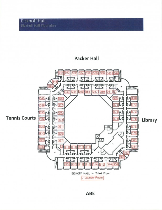 Eickhoff Hall – Residential Education and Housing