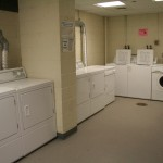 New Residence Hall Washer/Dryer Room