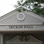 Decker Hall Entrance