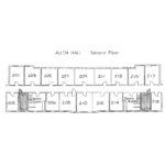 Allen Hall Floorplan
