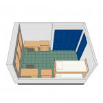 Centennial Hall Room Layout