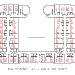 New Residence Hall Floorplan