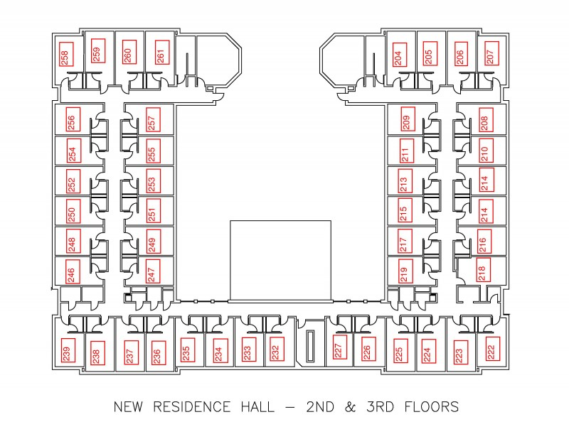 New Residence Hall | Residential Education and Housing